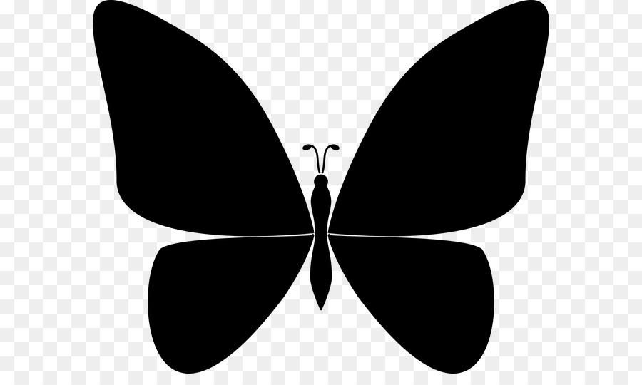 Картинки бабочек схематичные