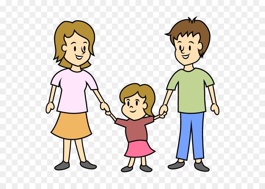 Картинки дети с родителями нарисованные