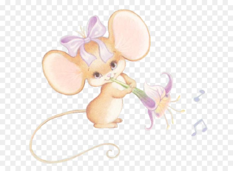 Родителей, открытка мышка девочка