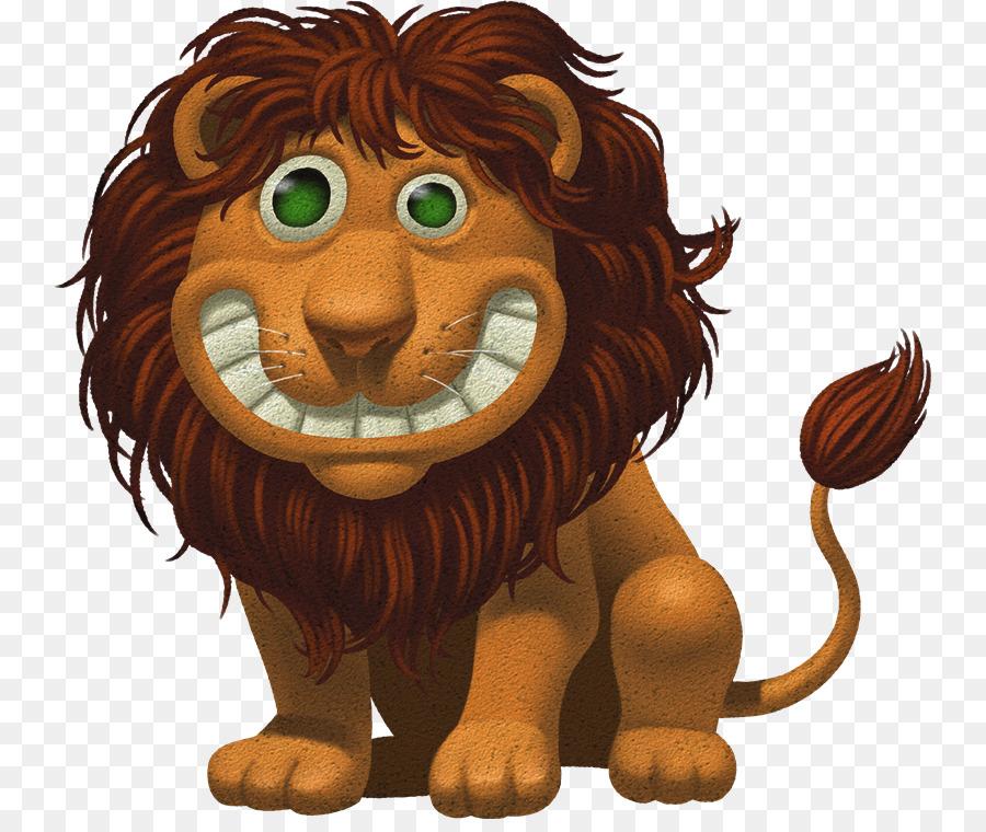 Днем, смешные рисунки лев