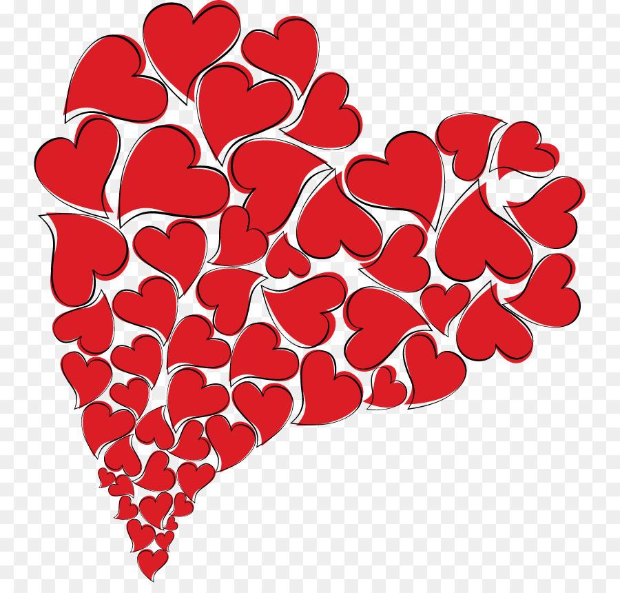 картинки сердечки распечатать красные