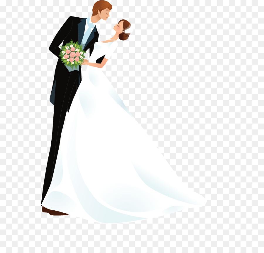 День рождения, картинка жениха и невесты на открытку