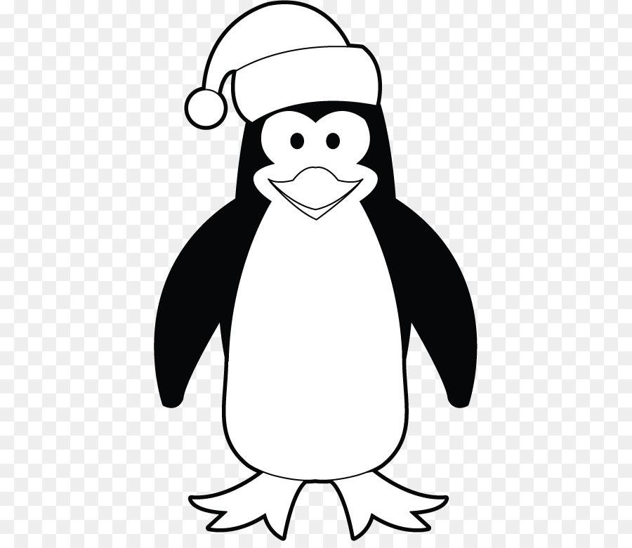 одном пингвины картинки черно белые версии