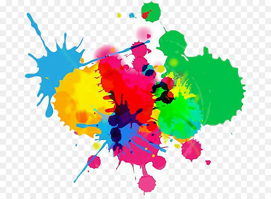 картинки ляпы красок весенний дизайн коротких