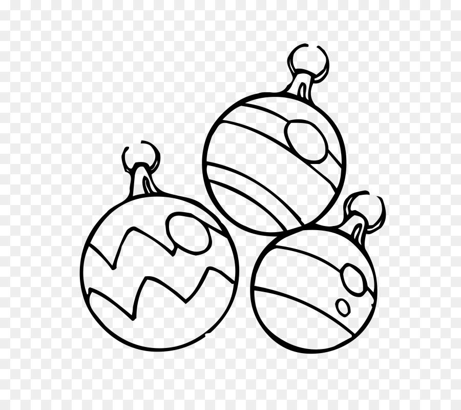 Елочные шары черно-белые картинки