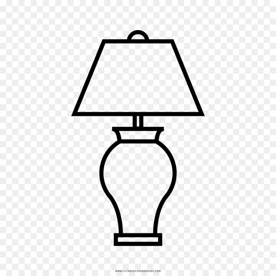 Лампа рисунок карандашом