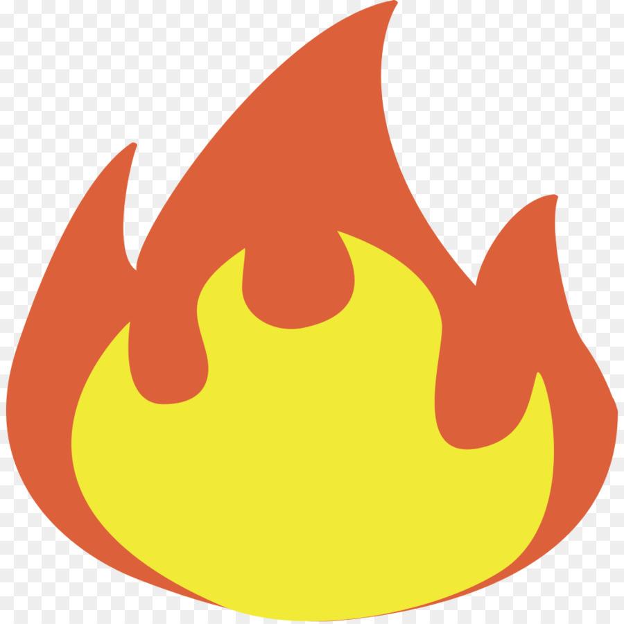 Картинка смайлик огонь