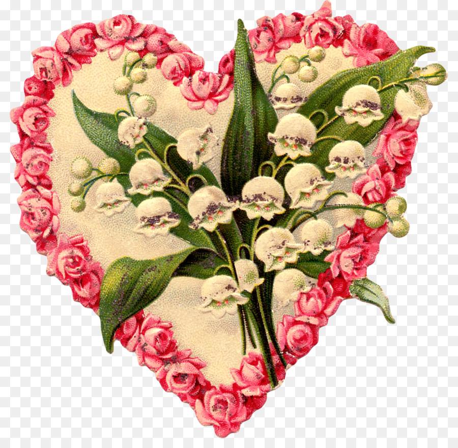 Красивые открытки сердечки с цветами