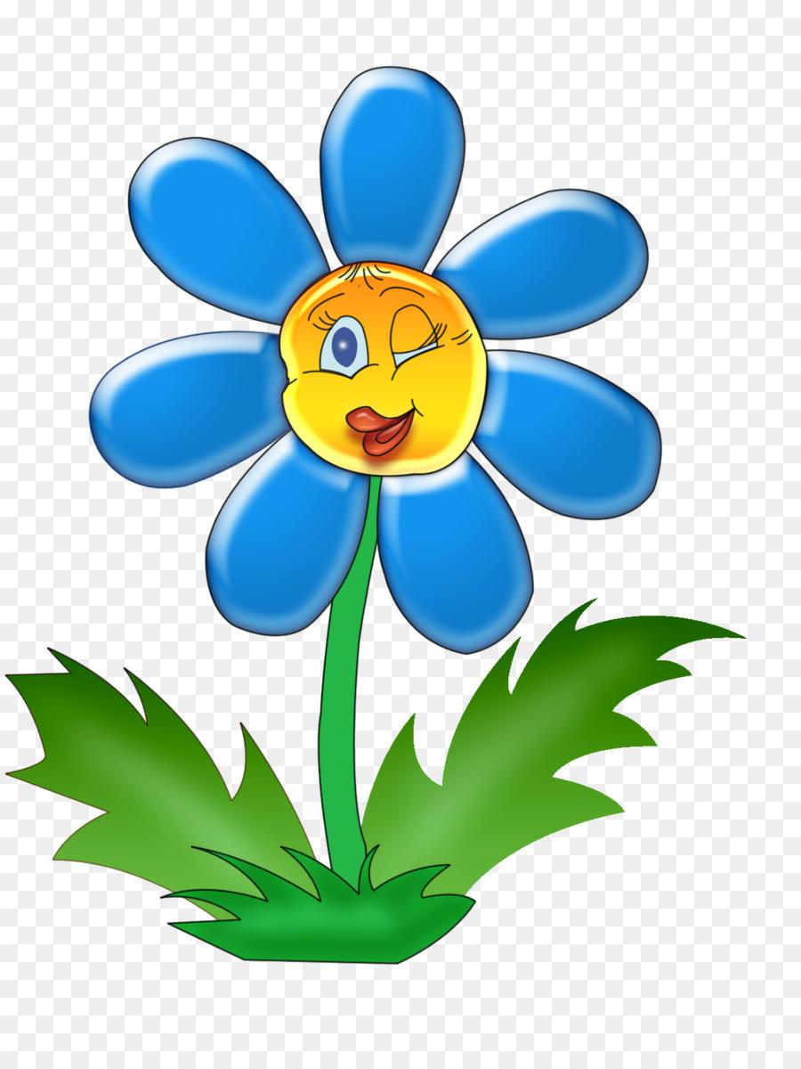 Веселый цветок картинка