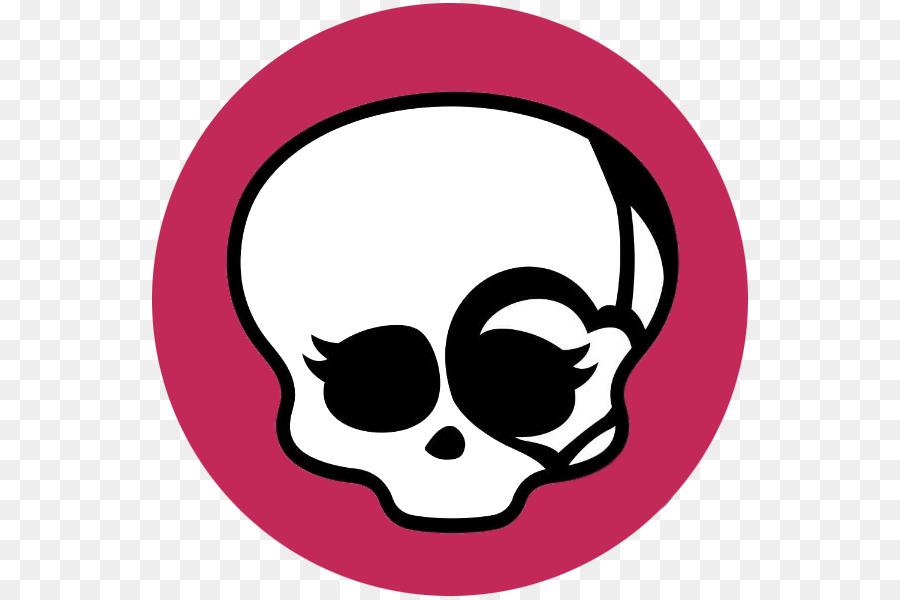 картинка череп из монстер хай азиатской