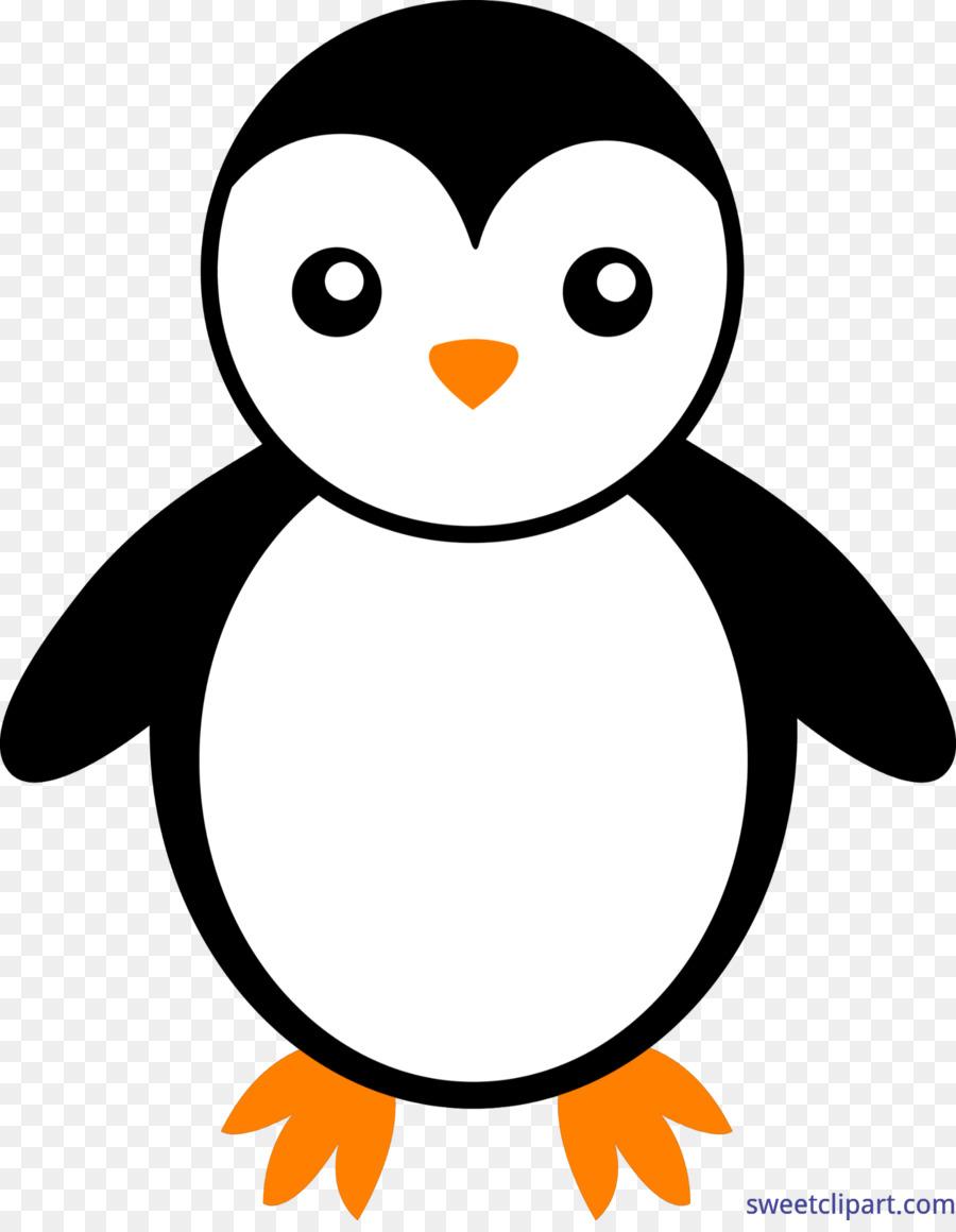 Шаблон пингвина картинки