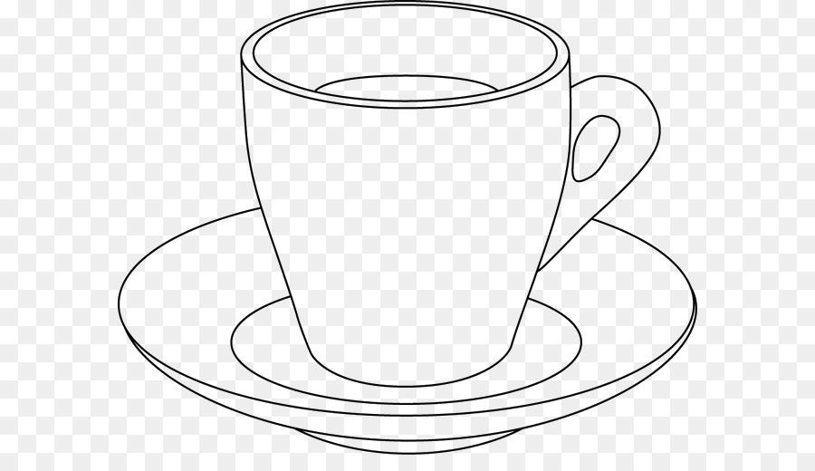 Чашка с блюдцем картинки раскраски