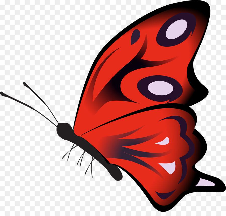 Красная бабочка картинки для детей