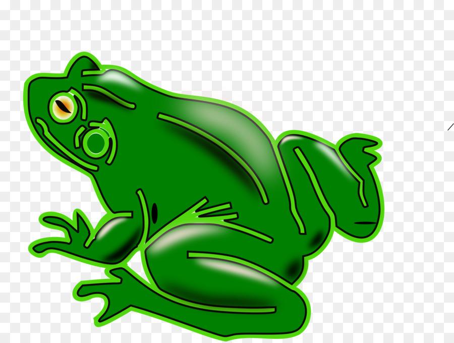 Клипарт картинка лягушка