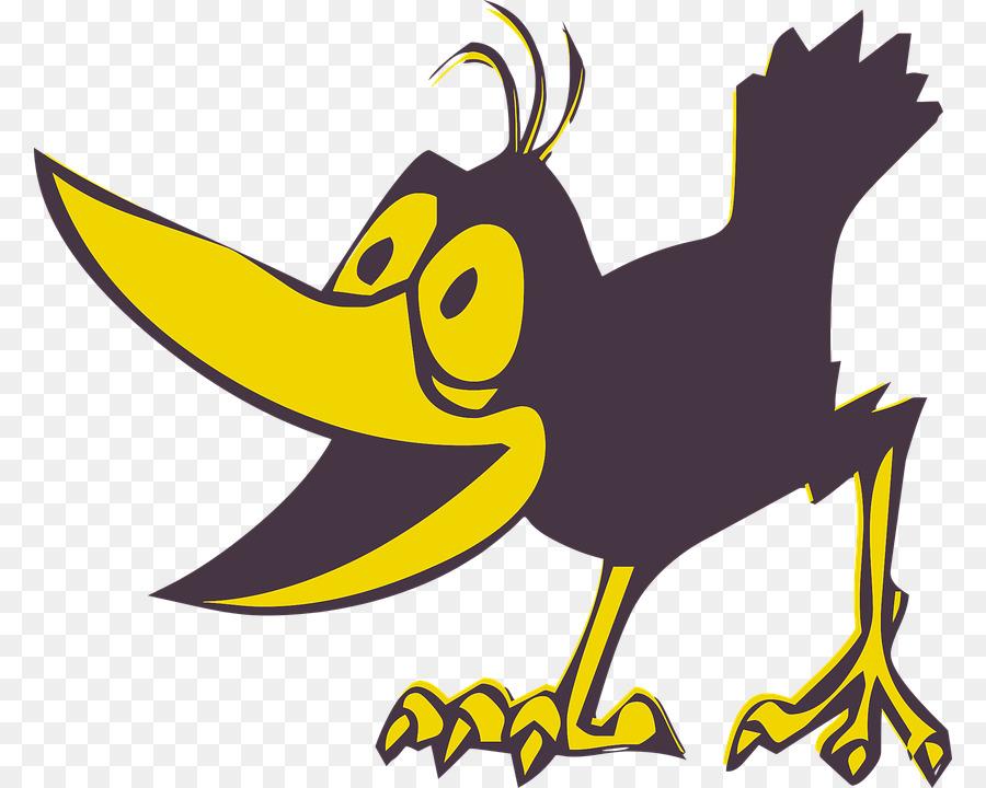 Музыкальная отправить, смешная ворона рисунок детский
