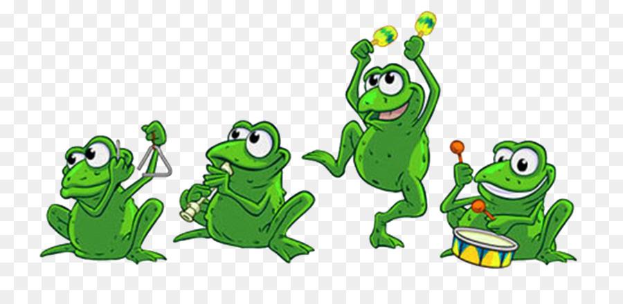 Смешная понедельник, картинка анимация лягушки