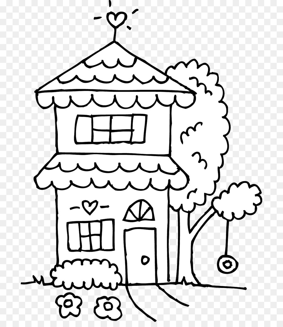 Нарисованные домики в картинках распечатать