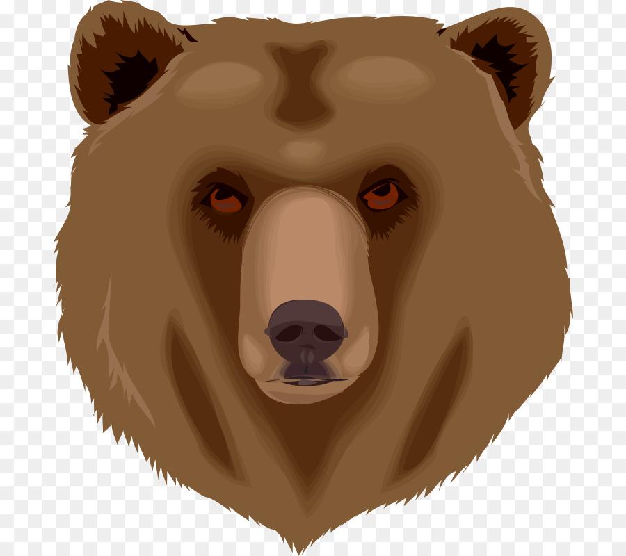 объясняется картинка голова медведя за кустом мужчина