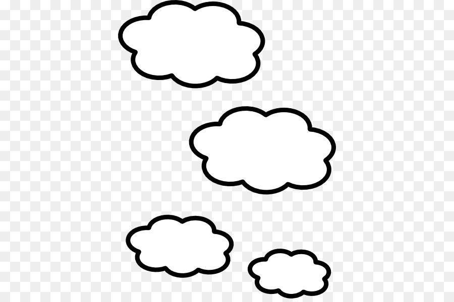 облака черно белый рисунок мишель