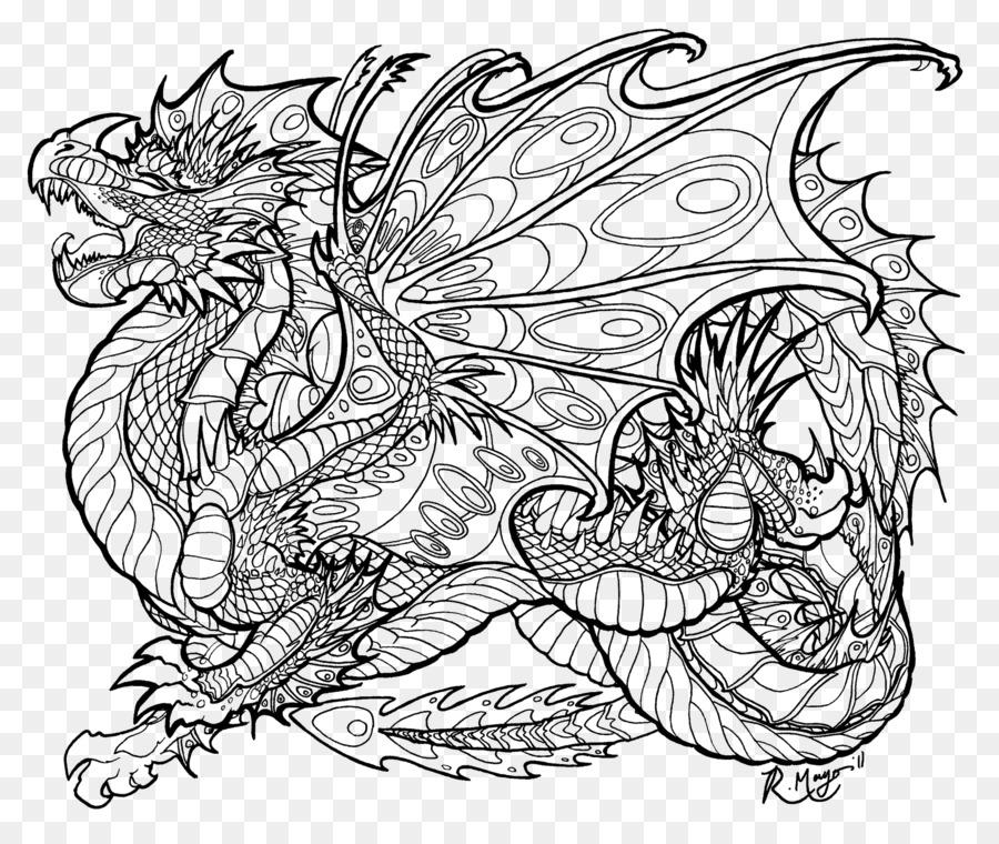 цветной дракон картинка распечатать заведении можно