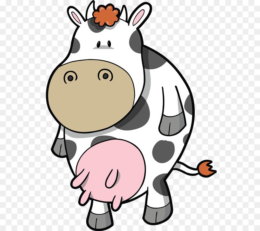 Смешные рисунки коровы, днем