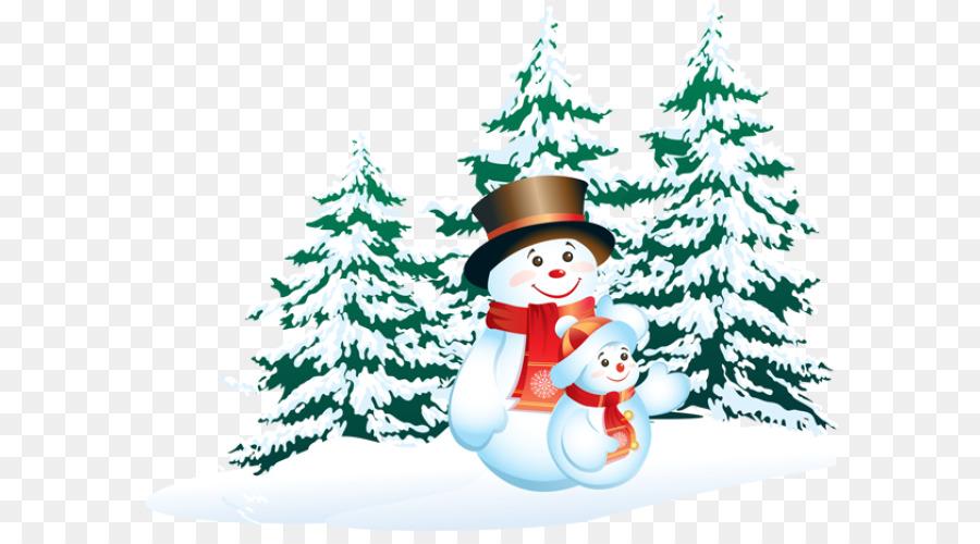 картинки мультяшного снеговика с елкой стилей