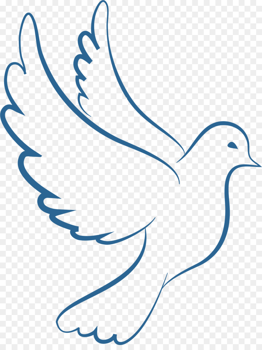 Картинки трафаретов голубей