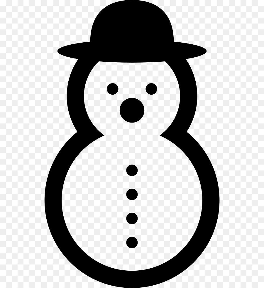 картинка контур снеговик которого