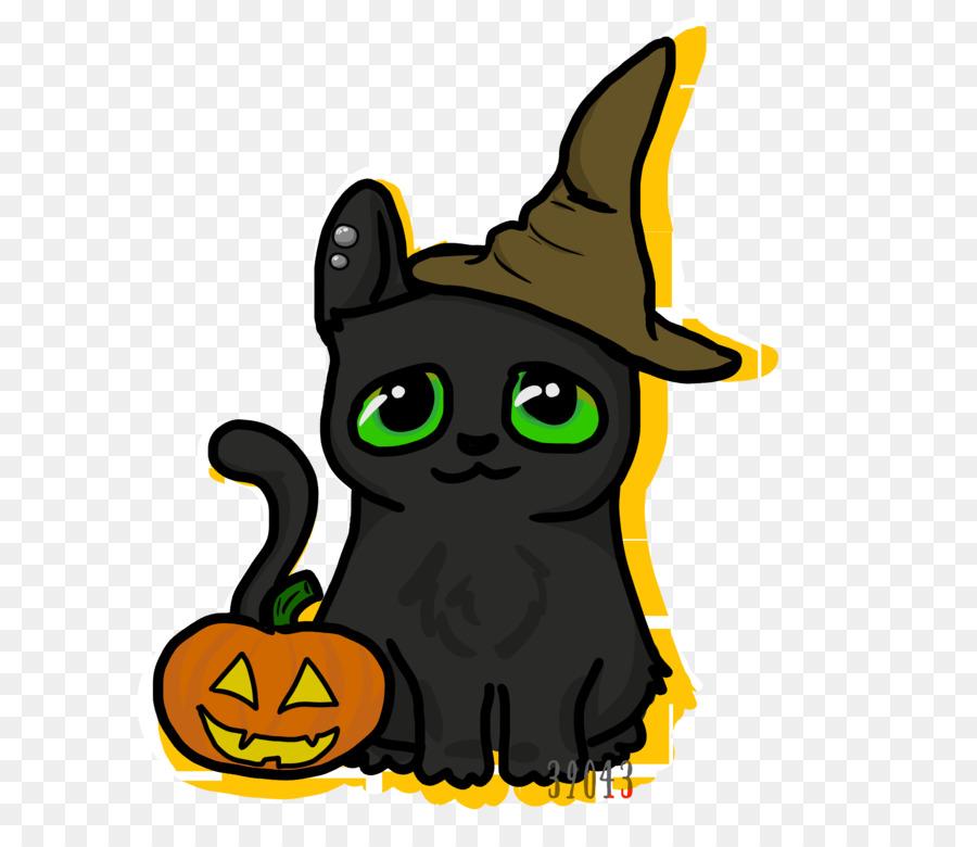 Картинки кошка в хэллоуин прозрачный фон