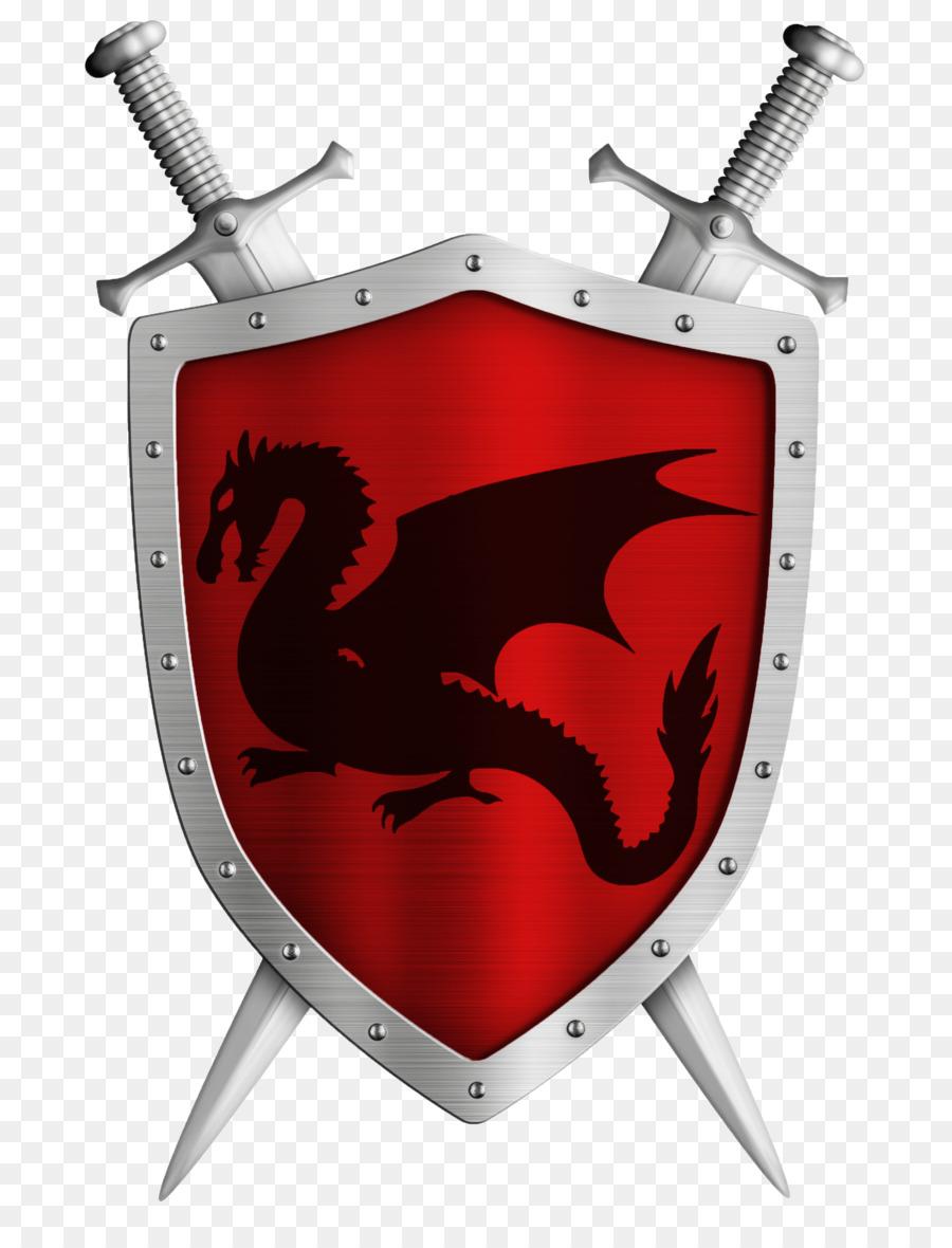 картинки герб на щите рыцаря она