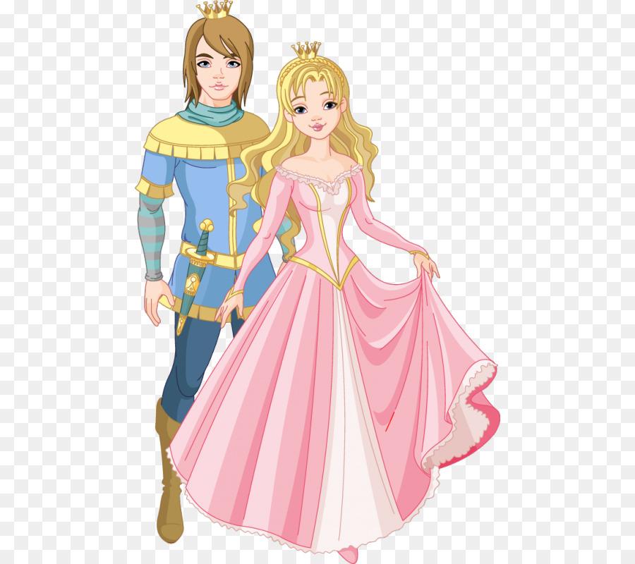Картинка принца с принцессой для детей