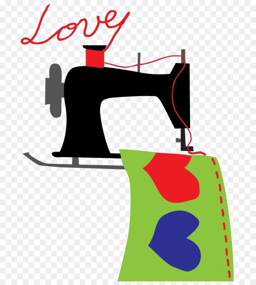 рисунок швея за швейной машинкой более