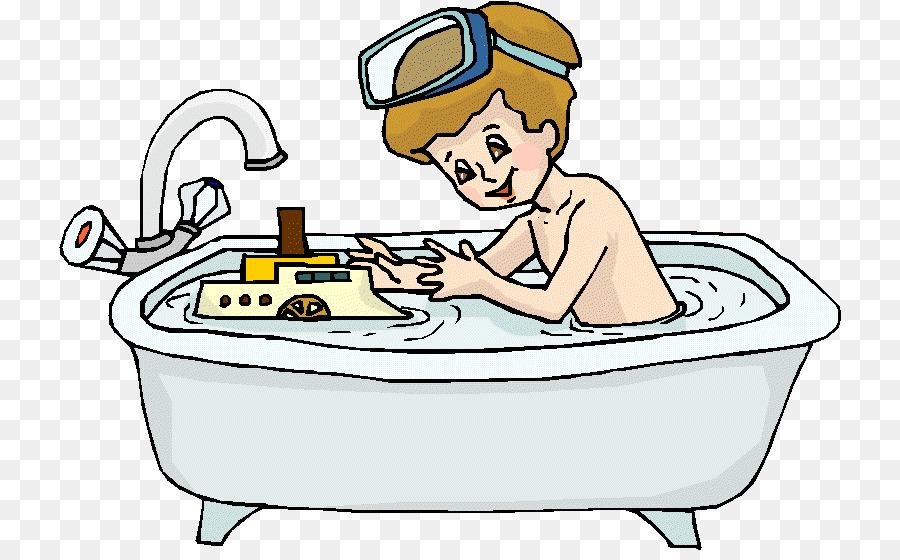 Мальчик купается в ванне картинка