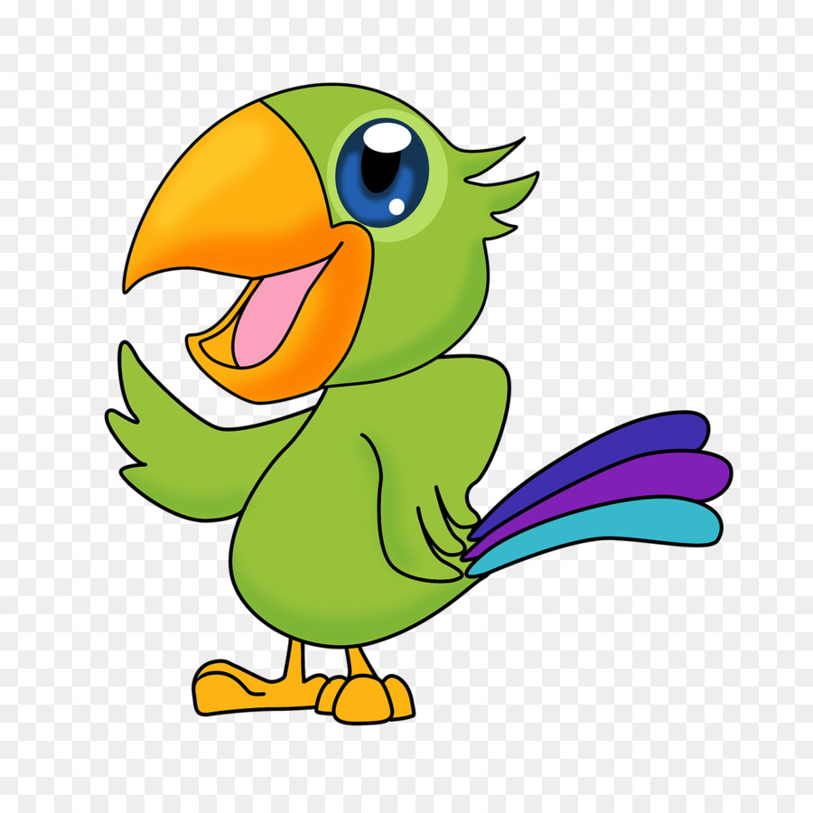 них мультяшные картинки попугаев спрея болотный