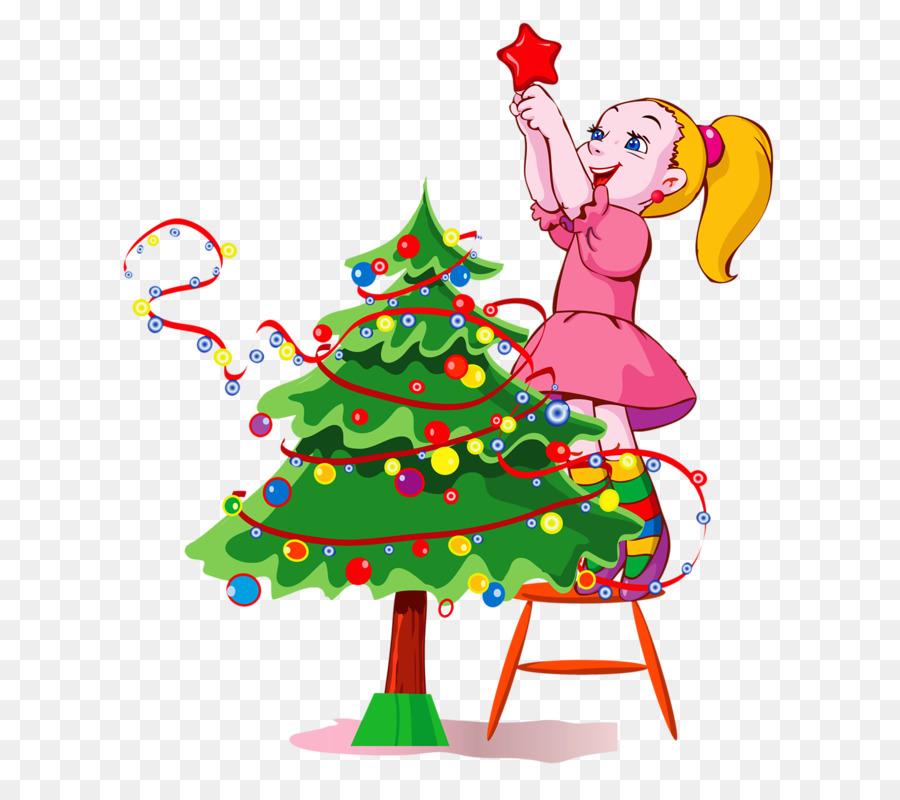 Детские картинки с новогодней елкой