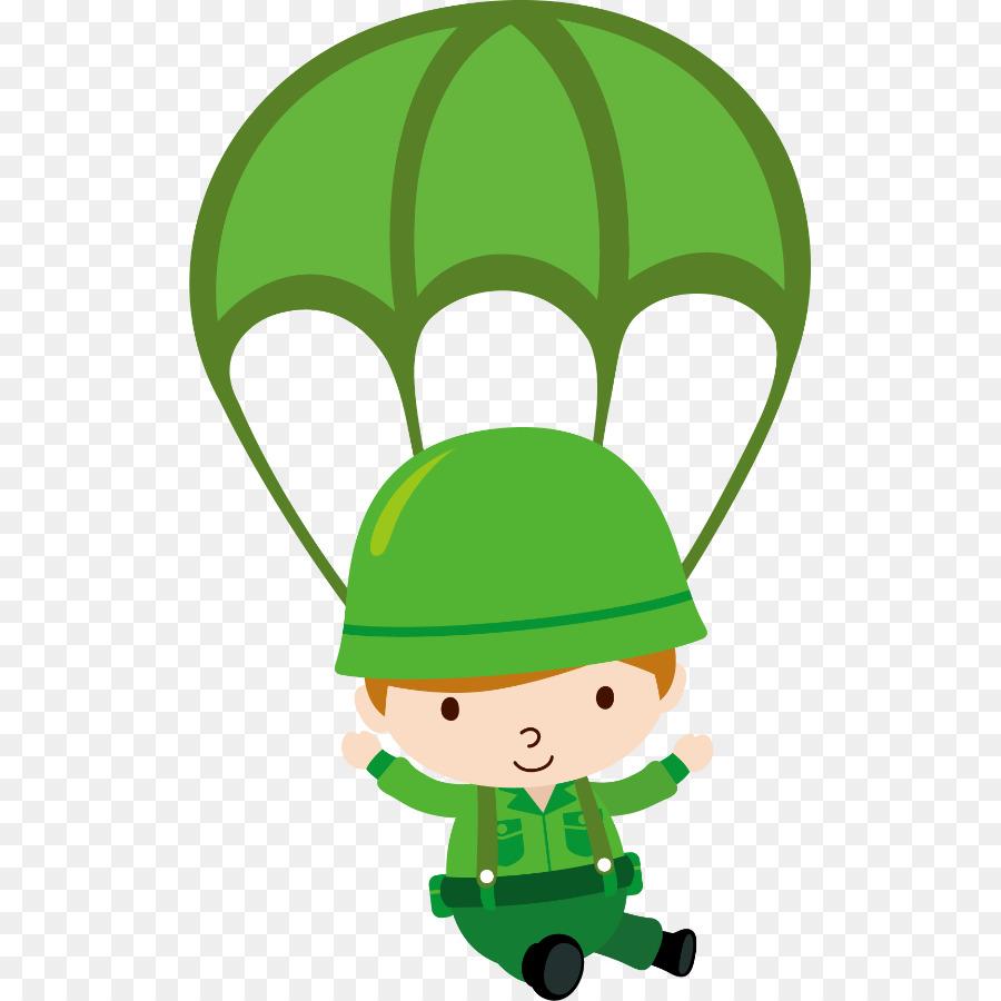 Картинка парашютист для детей