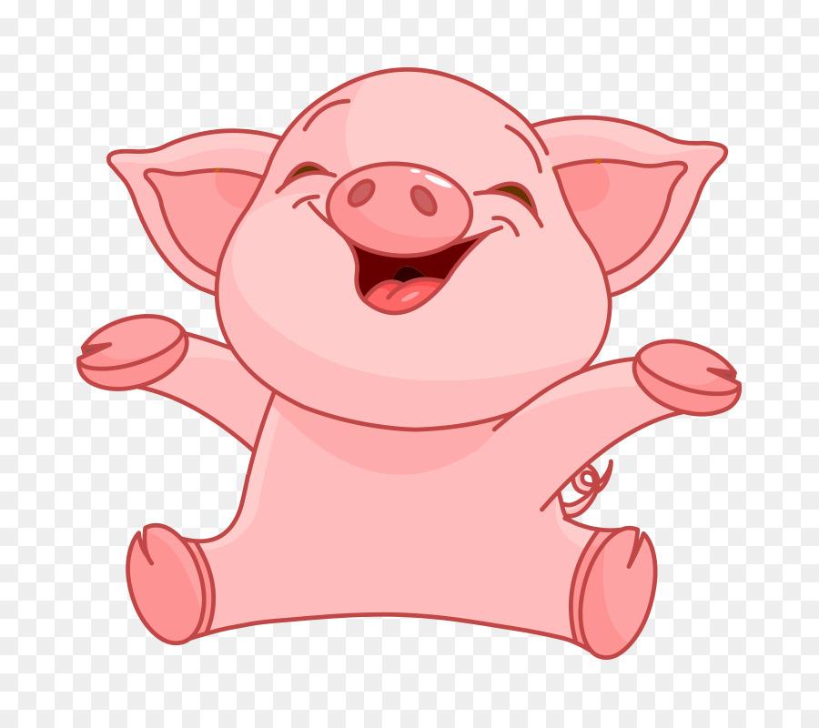 Прикольная свинья рисунки