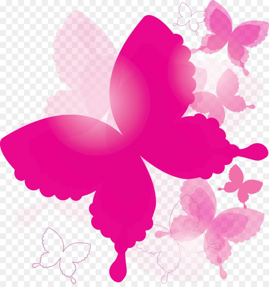 розовые картинки на прозрачном фоне день