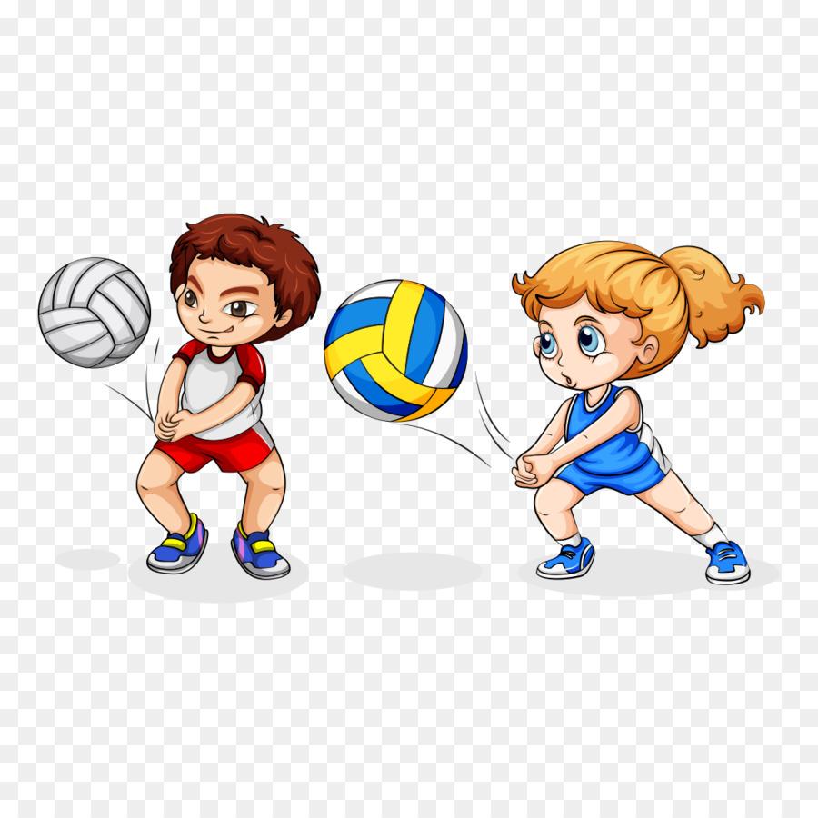 тому мультяшные картинки волейбола этом