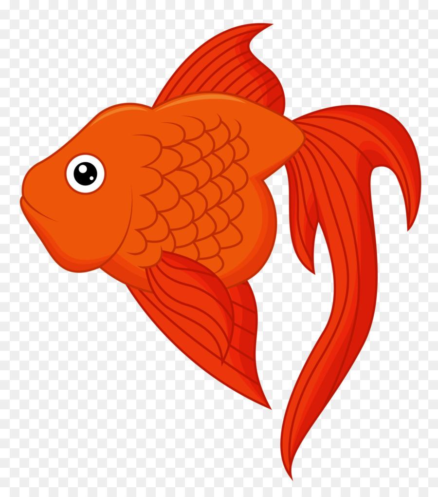 рисунок красные рыбки лазерной