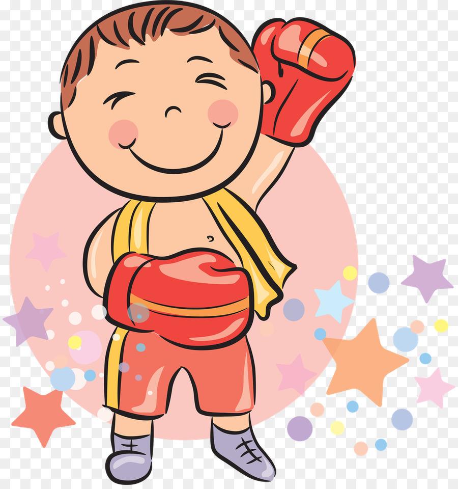 Картинка рисунок бокс