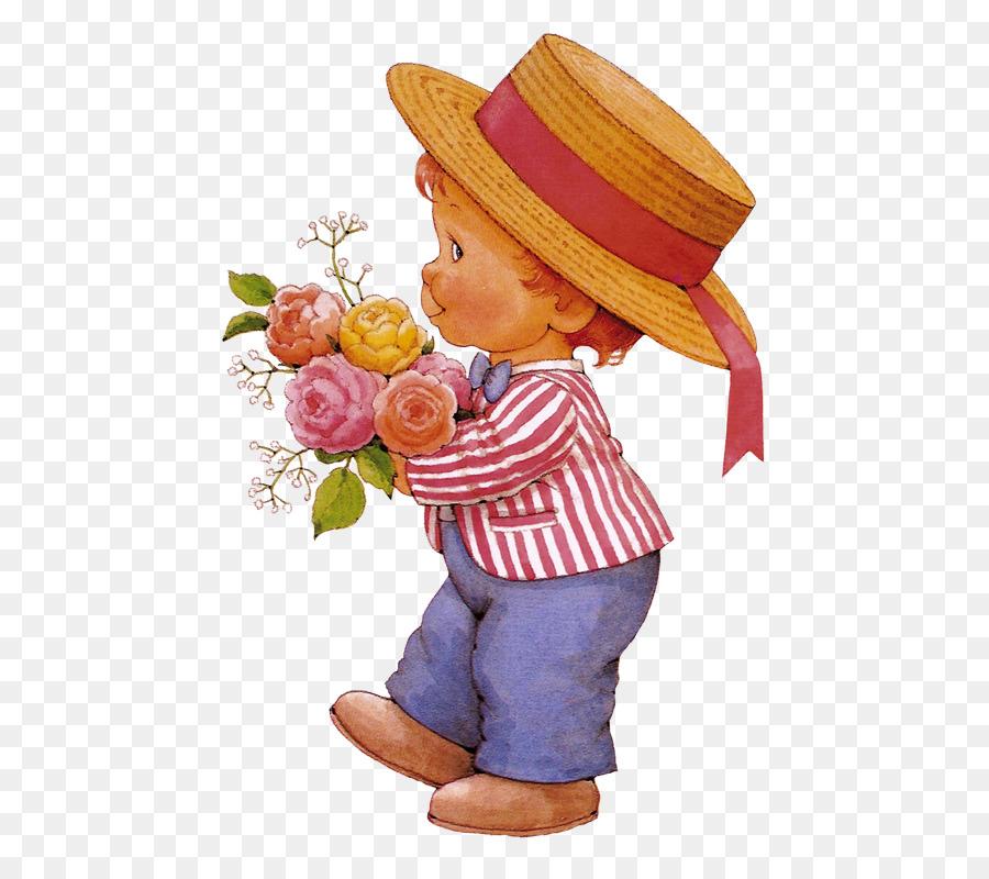 Картинка мальчик с цветами для детей