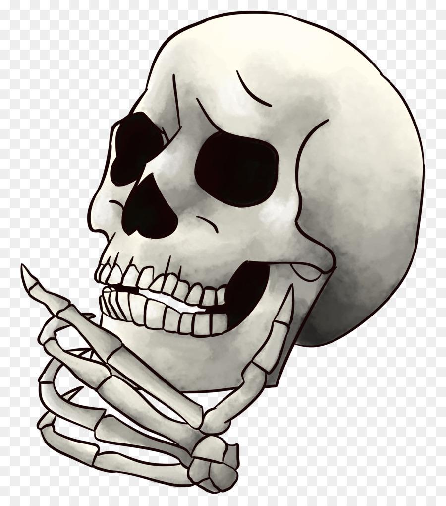 Мультяшные картинки черепа