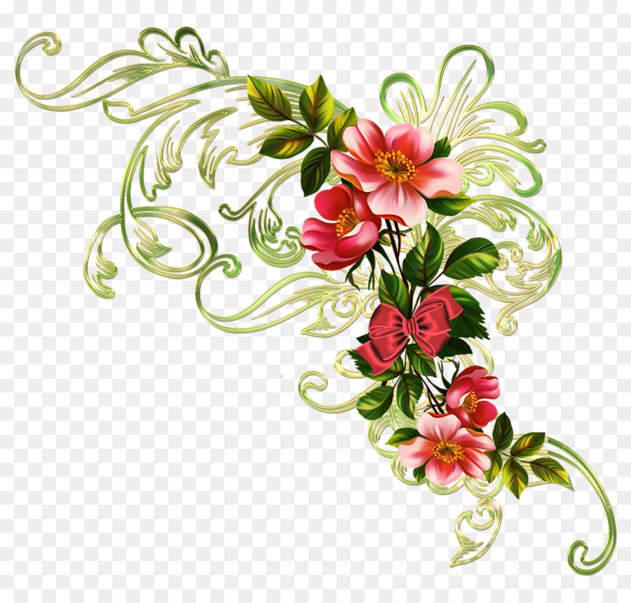 Картинки орнаментов цветы