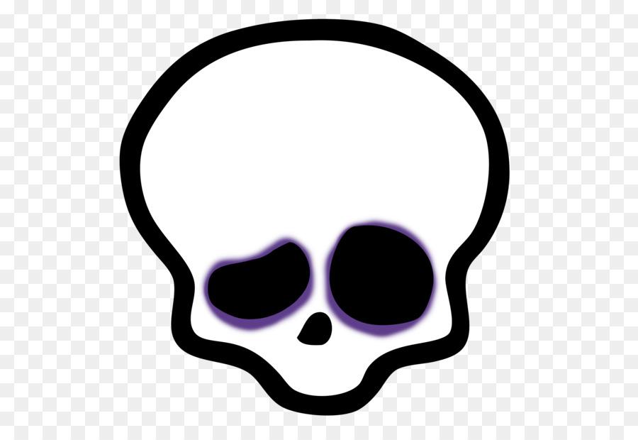 картинка череп из монстер хай распространенный