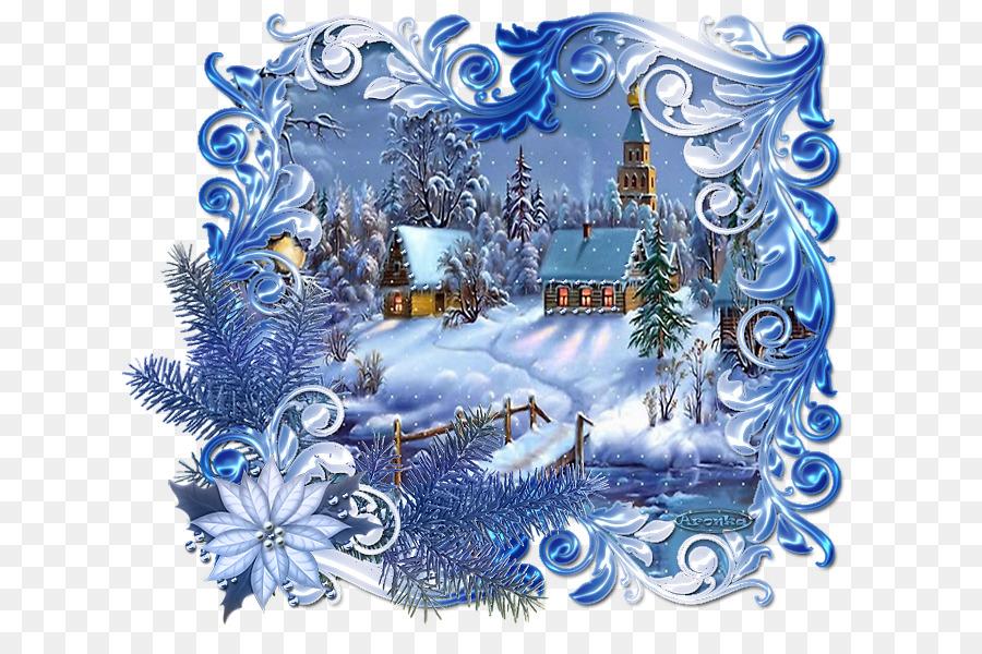 Зимние и рождественские открытки