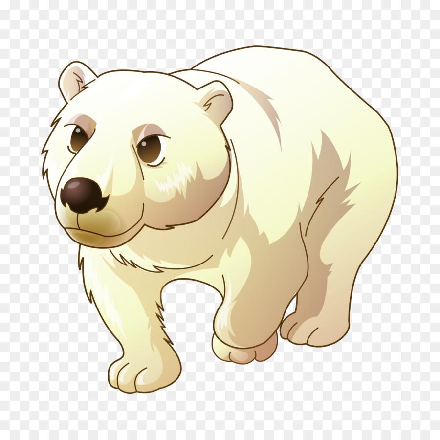 смайлики для мультяшный белый медвежонок картинки это