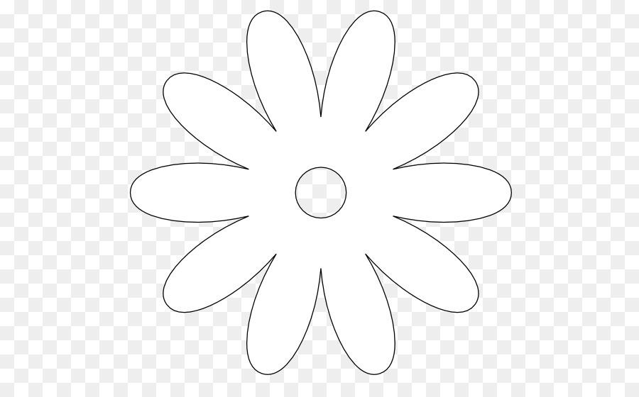 картинка ромашка шаблон для вырезания
