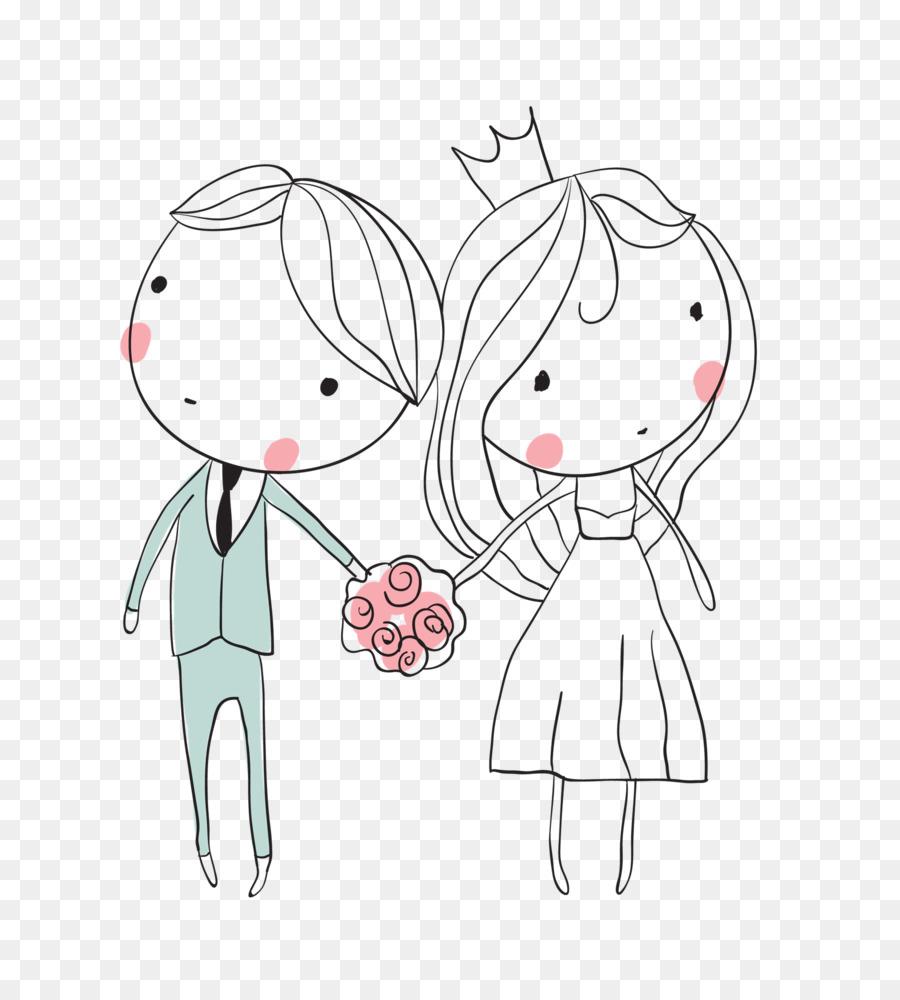 Жених и невеста милые картинки