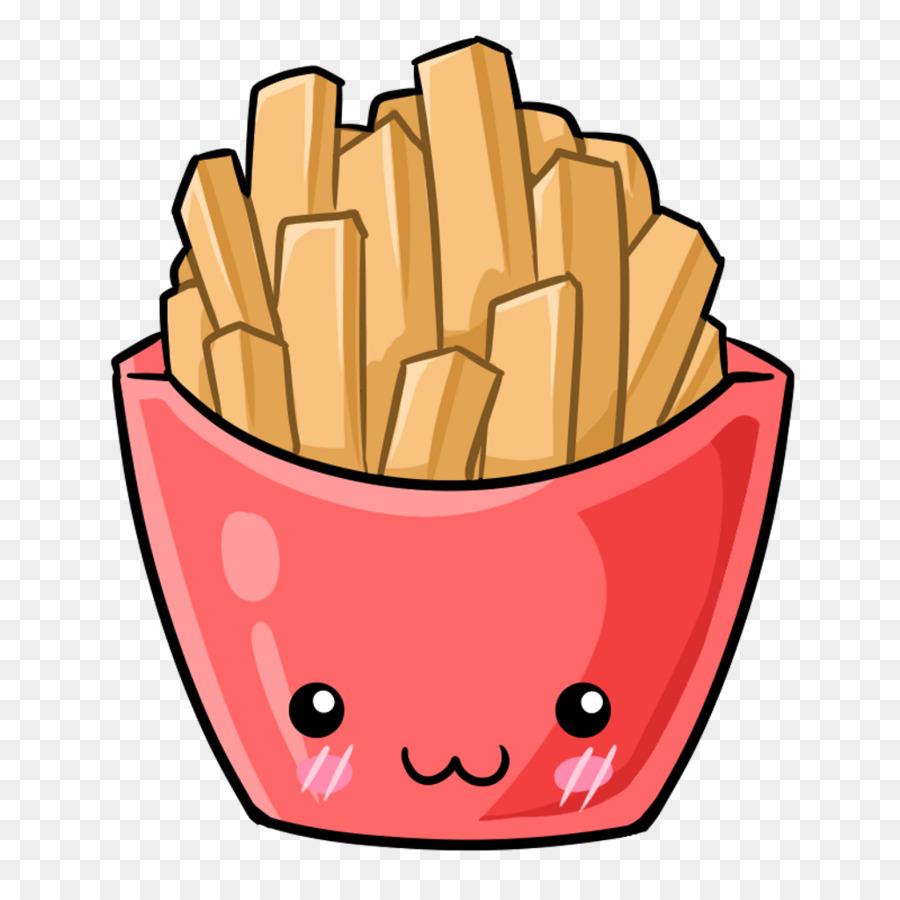 Картинки мультяшные картошки фри